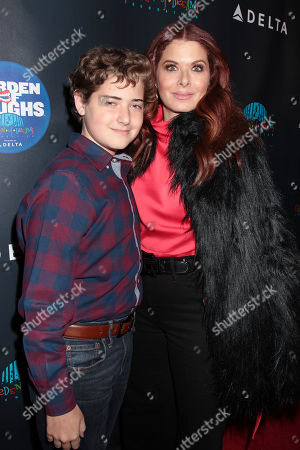 Roman Walker Zelman and Debra Messing