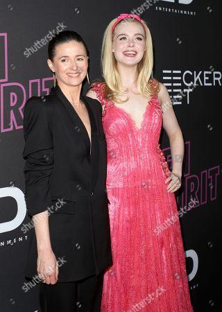 Editorial photo of 'Teen Spirit' film screening, Arrivals, Los Angeles, USA - 02 Apr 2019