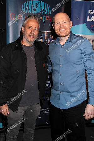 Jon Stewart and Bill Burr