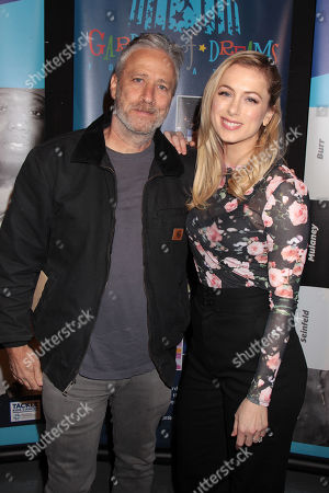 Jon Stewart and Iliza Shlesinger