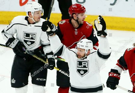 Editorial image of Kings Coyotes Hockey, Glendale, USA - 02 Apr 2019
