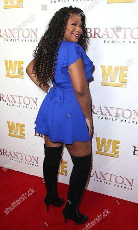 Stock Image of Trina Braxton