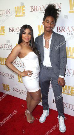 Toni Braxton and Diezel Braxton-Lewis
