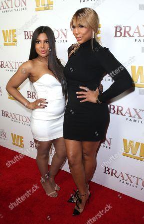 Toni Braxton and Tamar Braxton