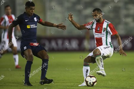 Editorial image of Palestino vs Alianza Lima, Santiago, Chile - 03 Apr 2019