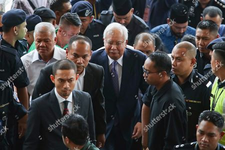 Editorial image of Former Malaysian Prime Minister Najib Razak corruption trial in Kuala Lumpur, Malaysia - 03 Apr 2019