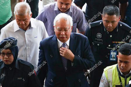 Editorial picture of Former Malaysian Prime Minister Najib Razak corruption trial in Kuala Lumpur, Malaysia - 03 Apr 2019