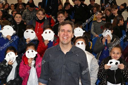 Editorial photo of Author Jeff Kinney visits Scampia, Naples, Italy - 29 Mar 2019