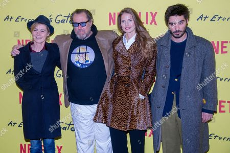 Editorial image of 'At Eternity's Gate' photocall, Paris, France - 02 Apr 2019