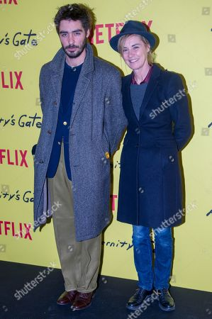 Stock Photo of Wladimir Consigny and Anne Consigny