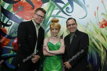 Director Klay Hall, Tinker Bell and Producer Sean Lurie
