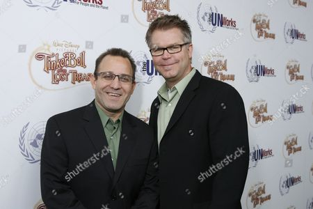 Producer Sean Lurie with Director Klay Hall