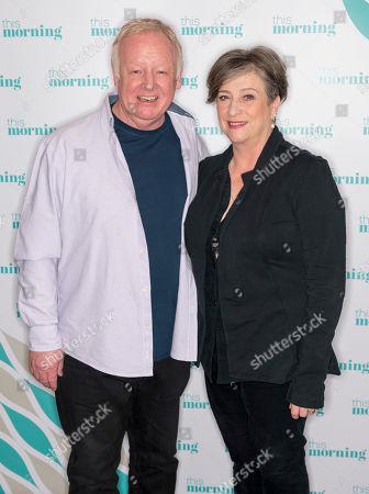 Les Dennis and Caroline Quentin