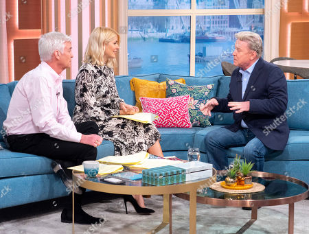Phillip Schofield, Holly Willoughby, David Van Day