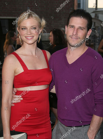 Stock Picture of Amy Smart and Branden Williams