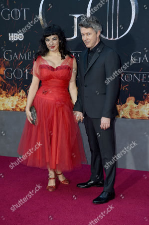 Stock Picture of Aidan Gillen and Camille O'Sullivan