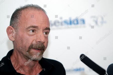 US Timothy Brown, also known as 'Berlin Patient', first HIV patient cured by a stem cell treatment, attends the opening of the 19th AIDS and Sexually transmitted infections (STIs) National Congress, which was inaugurated by Spanish Health Minister Maria Luisa Carcedo, in Alicante, Spain, 03 April 2019. Brown revealed that there may be another case like his in Seattle, USA.