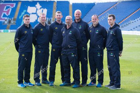 (L-R) Tom Turner, Richard Almond, Steve Watkins, Matthew Maynard, David Harrison, Adrian Shaw and Chris Hardy.