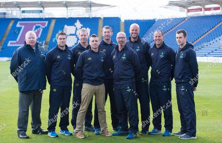 Editorial picture of Glamorgan Cricket Squad - 02 Apr 2019