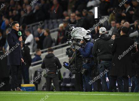 Former Tottenham Hotspur player Jermaine Jenas reports from the touchline