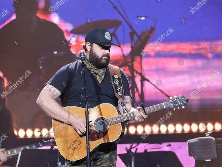 Randy Houser performs at Loretta Lynn's 87th Birthday Tribute at Bridgestone Arena, in Nashville, Tenn