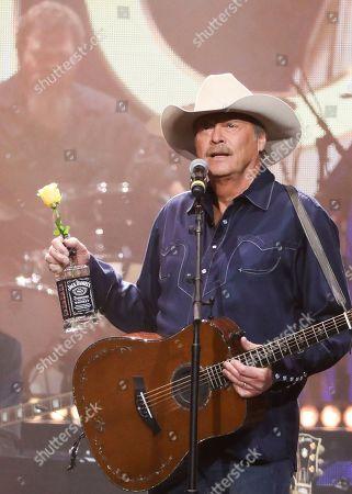Alan Jackson performs at Loretta Lynn's 87th Birthday Tribute at Bridgestone Arena, in Nashville, Tenn