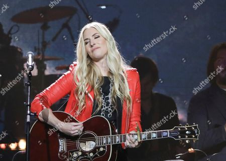 Stock Picture of Holly Williams performs at Loretta Lynn's 87th Birthday Tribute at Bridgestone Arena, in Nashville, Tenn