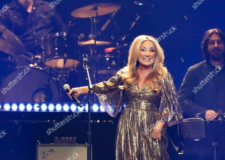 Stock Photo of Lee Ann Womack performs at Loretta Lynn's 87th Birthday Tribute at Bridgestone Arena, in Nashville, Tenn
