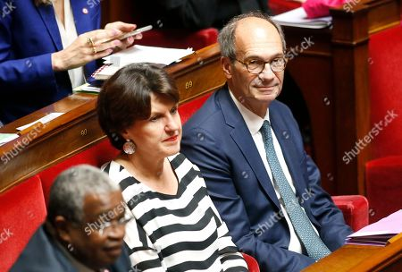 French Member of Parliament of the right-wing Les Republicains party and Chairman of the Finance Committee of the French Assembly Eric Woerth attends a session of questions to the government at the National Assembly