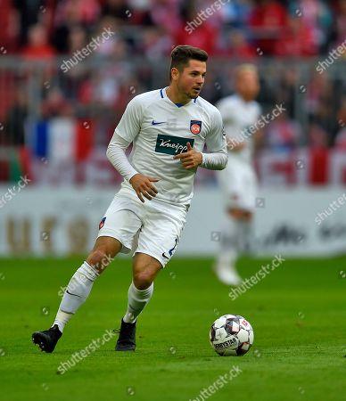 03.04.2019, Football DFB Pokal 2018/2019,    FC Bayern Muenchen - 1.FC Heidenheim, in Allianz-Arena Muenchen.    Marnon Busch (Heidenheim) .
