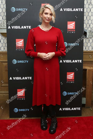 Editorial photo of 'A Vigilante' Special Screening, Saban Films and DIRECTV, New York, USA - 02 Apr 2019