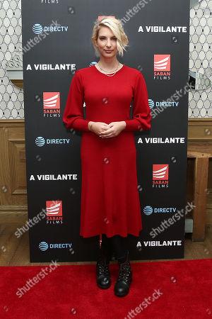Editorial image of 'A Vigilante' Special Screening, Saban Films and DIRECTV, New York, USA - 02 Apr 2019