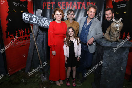 "Editorial image of Brooklyn Horror Festival Screening of ""Pet Sematary"", New York, USA - 03 Apr 2019"