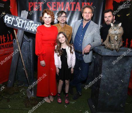"Editorial photo of Brooklyn Horror Festival Screening of ""Pet Sematary"", New York, USA - 03 Apr 2019"