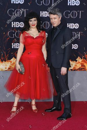 Editorial photo of 'Game of Thrones' season eight premiere, Arrivals, New York, USA - 03 Apr 2019
