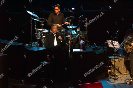 Julio Iglesias performs at the National Auditorium in Mexico City, Mexico, 03 April 2019. After six years of absence Julio Iglesias returned to the stages of Mexico this on 03 April 2019, in the National Auditorium. The Spanish singer-songwriter celebrated with his Mexican audience half a century of career with his The 50 Year Anniversary Tour.