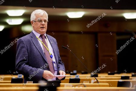 Editorial photo of European Parliament, Brussels, Belgium - 03 Apr 2019