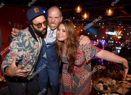 Stock Picture of Desmin Borges, Stephen Falk, Kether Donohue