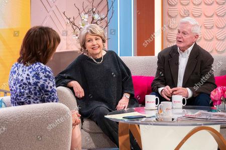 Lorraine Kelly, Anne Reid and Sir Derek Jacobi