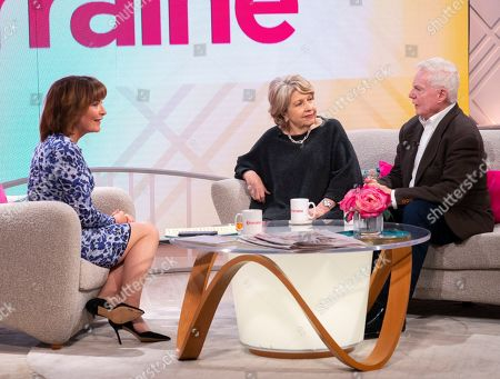 Lorraine Kelly, Anne Reid and Sir Derek Jacobi