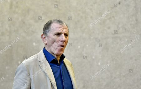 Defendant Peter Hochegger attends another day of trial against former Finance Minister Karl-Heinz Grasser and other defendants at the Vienna District Criminal Court, in Vienna, Austria, 04 April 2019. The trial of Karl-Heinz Grasser and other defendants deals with the charges of alleged fraud and corruption in connection with the privatization of the federal housing association 'Buwog'.