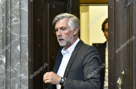 Defendant Walter Meischberger attends another day of trial against former Finance Minister Karl-Heinz Grasser and other defendants at the Vienna District Criminal Court, in Vienna, Austria, 04 April 2019. The trial of Karl-Heinz Grasser and other defendants deals with the charges of alleged fraud and corruption in connection with the privatization of the federal housing association 'Buwog'.