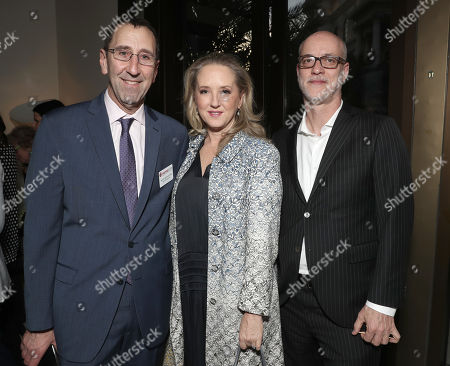 CinemaCon Managing Director Mitch Neuhauser, Amazon Studios Head Jennifer Salke and NATO President and CEO John Fithian