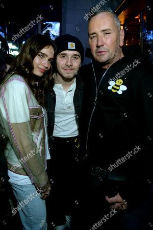 Hana Cross, Brooklyn Beckham and Fat Tony