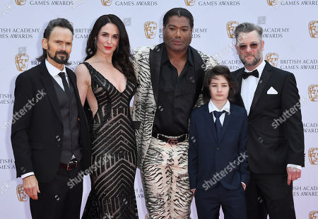 Stock Picture of Jeremy Davies, Danielle Bisutti, Christopher Judge and Cory Barlog