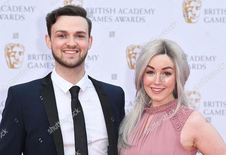 Editorial photo of BAFTA Games Awards, Arrivals, London, UK - 04 Apr 2019