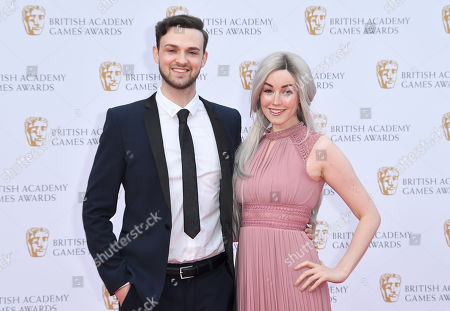 Stock Image of Ali-A and Claire