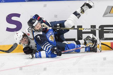 Editorial image of 2019 IIHF Hockey Women's World Championship, Espoo, Finland - 04 Apr 2019