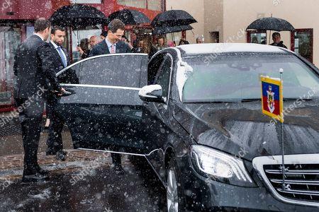 Editorial photo of Liechtenstein Hereditary Prince visits Switzerland, Lausanne - 04 Apr 2019