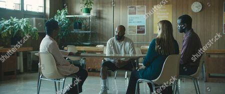 Jeffrey Wright as Louis, Mare Winningham as Janice and Ato Essandoh